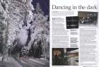 """Die Januarausgabe 2011 der englischen """"Steam Railway"""", nach eigenen Angaben die meistverkaufte Dampf-Zeitschrift der Welt, präsentiert die """"NachtZüge"""" auf einer Doppelseite."""