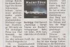 """""""Die Harzer Schmalspurbahnen haben einen gleichermaßen prächtigen wie beeindruckenden Bildband vorgelegt: NachtZüge."""" – eine Rezension der """"Volksstimme"""" aus Magdeburg."""