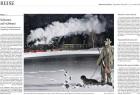 """""""Haensch hat diesem großartigen kleinen Eisenbahnsystem ein Denkmal gesetzt."""" In der Ausgabe vom 3. März 2011 bespricht die Süddeutsche Zeitung den Bildband """"NachtZüge"""":"""
