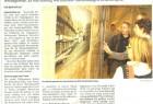 """Die Mitteldeutsche Zeitung vom 29. März 2012 berichtete von den neuen Ausstellungen in Wernigerode, darunter auch die Fotos aus dem """"NachtZüge""""-Projekt."""
